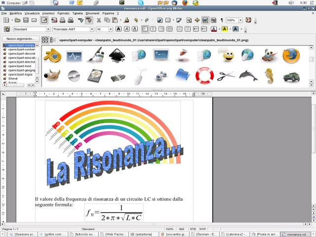 clipart in openoffice writer - photo #10